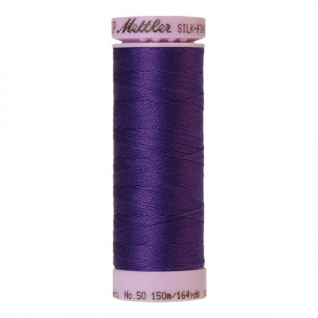 0030 - Iris blue Mettler Silk-Finish Cotton 50 150m