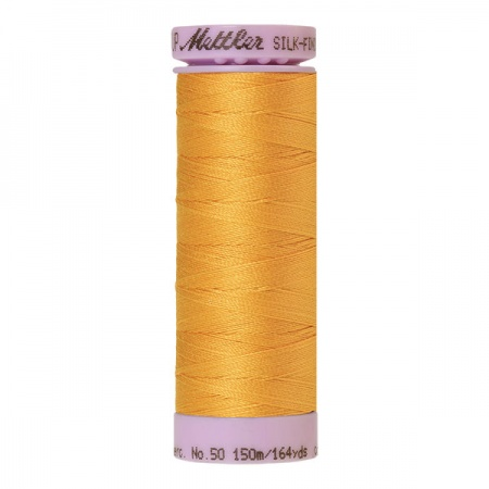 0161 - Marigold Mettler Silk-Finish Cotton 50 150m