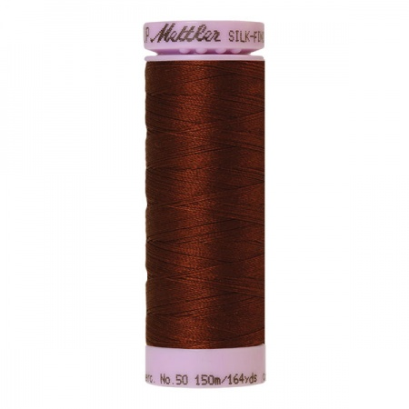 0173 - Friar brown Mettler Silk-Finish Cotton 50 150m