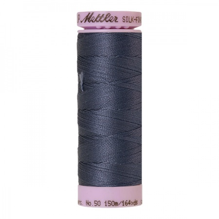 0311 - Blue shadow Mettler Silk-Finish Cotton 50 150m