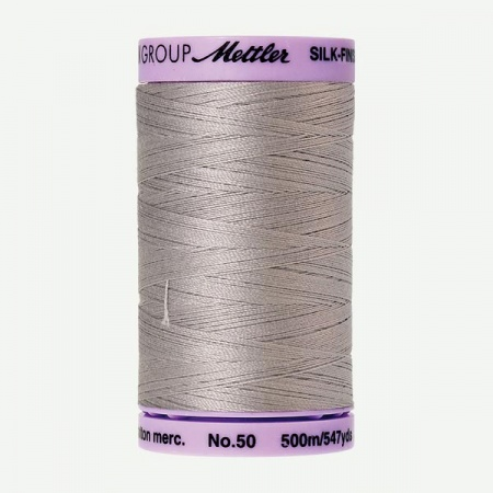 0331 - Ash Mist Mettler Silk-Finish Cotton 50 500m