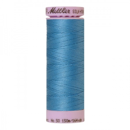 0338 - Reef blue Mettler Silk-Finish Cotton 50 150m