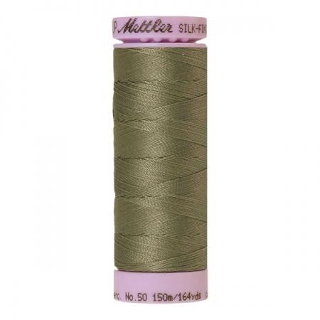 0381 - Sage Mettler Silk-Finish Cotton 50 150m