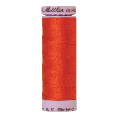 0450 - Paprika Mettler Silk-Finish Cotton 50 150m