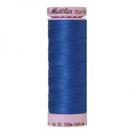 0815 - Cobalt blue Mettler Silk-Finish Cotton 50 150m