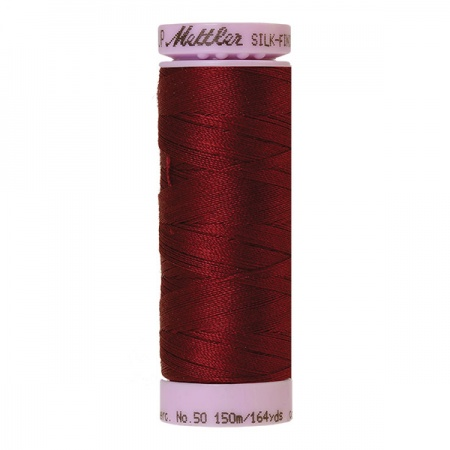 0918 - Cranberry Mettler Silk-Finish Cotton 50 150m