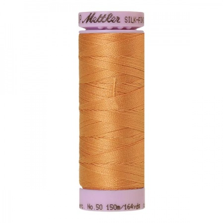 1172 - Dried apricot Mettler Silk-Finish Cotton 50 150m