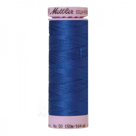 1303 - Royal blue Mettler Silk-Finish Cotton 50 150m