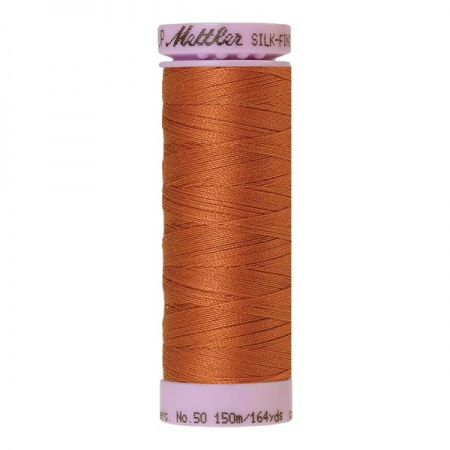2103- Amber brown Mettler Silk-Finish Cotton 50 150m