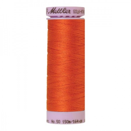 6255 - Mandarin orange Mettler Silk-Finish Cotton 50 150m