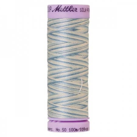 9810 - Tranquil blue Mettler Silk-Finish Cotton Multi 50 100m