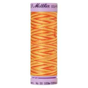 9831 - Orange ana Mettler Silk-Finish Cotton Multi 50 100m