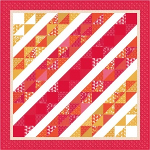 Moda Simply Colourful quilt kit