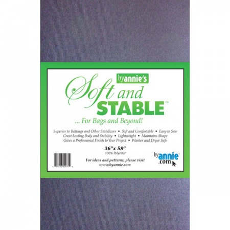 ByAnnie Soft and Stable bag stabiliser black - 36in x 58in