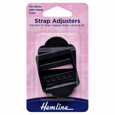 32mm plastic strap adjusters