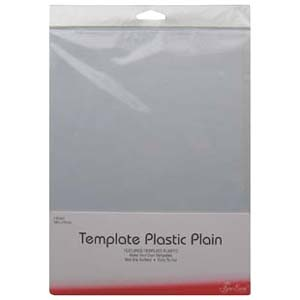 Template plastic - plain