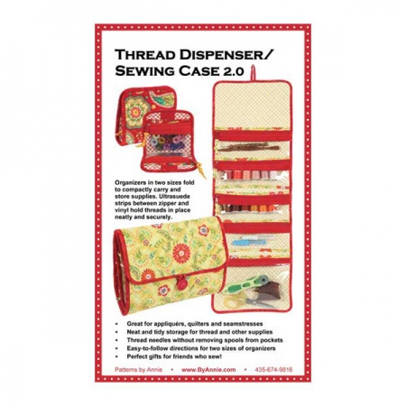ByAnnie Thread dispenser/Sewing case 2.0 bag pattern