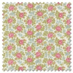 Bramble Cottage - bramble of roses linen (per 1/4 metre)