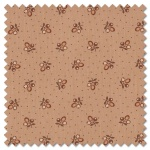 Lancaster - tiny sprig light tan (per 1/4 metre)