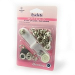 8.7mm silver eyelets with tool