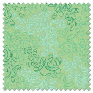 Nature Elements - blue green (per 1/4 metre)