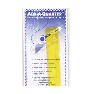 Add-A-Quarter ruler - 12 inch