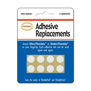 Adhesive replacements for UltraThimble/UnderThimble