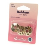 Metal sewing machine bobbin 3 pack - Elna