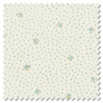 Dover - little floral sea glass (per 1/4 metre)