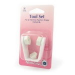 Fashion snap tool set - clamp style
