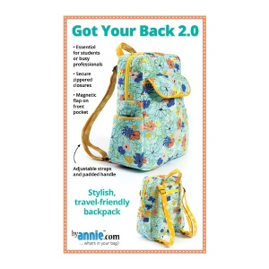 ByAnnie Got Your Back 2.0 bag pattern