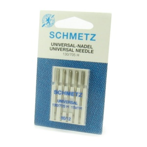 Schmetz universal sewing machine needles - size 80/12
