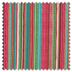 Let it Snow - dotty stripe (per 1/4 metre)