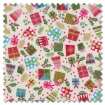 Let it Snow - presents cream (per 1/4 metre)