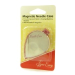 Magnetic needle case with threader