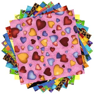 Novelty prints 20 charm pack