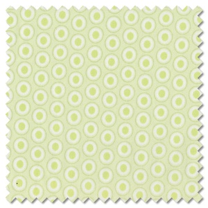 Oval Elements - sugar green (per 1/4 metre)