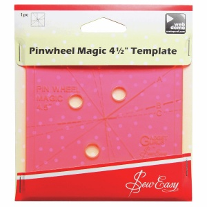 Pinwheel Magic 4.5 inch template