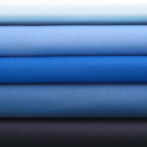 Solids blues 5 fat quarter pack