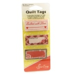 Quilt tags - quilters