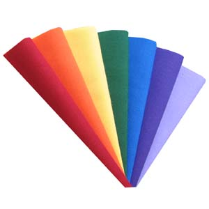 Rainbow 7 fat quarter pack