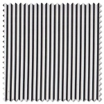 Sevenberry Black & White - skinny stripe (per 1/4 metre)