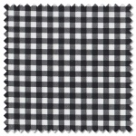 Sevenberry Black & White - gingham (per 1/4 metre)