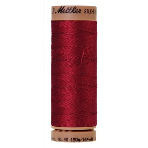 0105 - Fire engine Mettler Silk Finish 40 quilting thread 150m