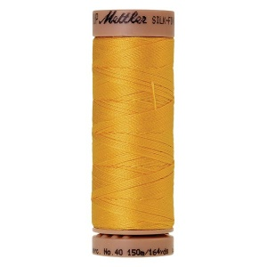 0120 - Summer sun Mettler Silk Finish 40 quilting thread 150m