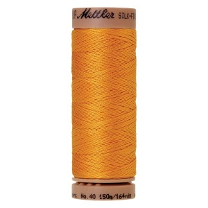 0161 - Marigold Mettler Silk Finish 40 quilting thread 150m
