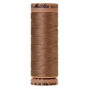 0280 - Walnut Mettler Silk Finish 40 quilting thread 150m