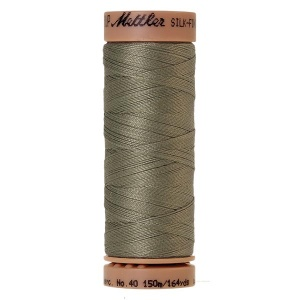 0381 - Sage Mettler Silk Finish 40 quilting thread 150m