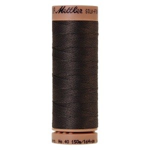 1282 - Charcoal Mettler Silk Finish 40 quilting thread 150m