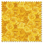 Summer Garden - packed rose yellow (per 1/4 metre)